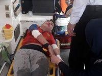 سقوط یک کودک از پشتبام در تهران +عکس
