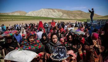 عروسی سنتی در روستای « لائین » +تصاویر