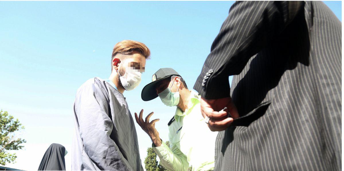 دستگیری عوامل تخریب ۱۰ خودرو در منطقه ۲۲ + عکس
