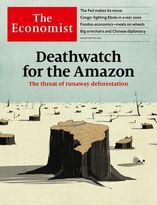 جلد نشریه اکونومیست؛ وضعیت نابودی جنگلهای آمازون