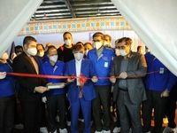 افتتاح خط تولید ماسک تنفسی در شرکت مهرکامپارس