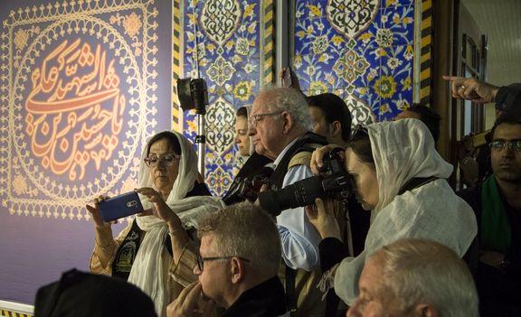 حضور چشمگیر گردشگران خارجی در آیینهای عزاداری امسال