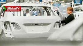 مراحل تولید بدنه خودرو بنز! +فیلم