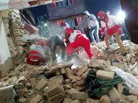 نجات معجزهآسای کودک 2ساله از انفجار +عکس