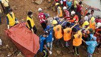 ۱۰۰کشته در اثر رانش یک معدن یشم در میانمار