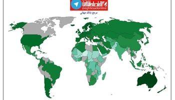 نقشه جهانی میانگین زمان تحصیل مورد انتظار +اینفوگرافیک