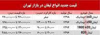 قیمت لیفان در بازار تهران +جدول