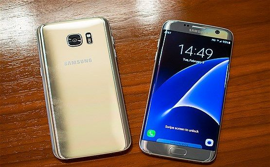 Galaxy S7 Edge بی ضررترین موبایل جهان