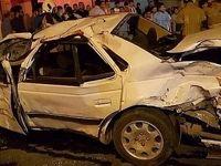 واژگونی خودرو ۲ کشته به جا گذاشت