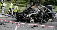 مرگ مقام اطلاعاتی اوکراین در انفجار تروریستی +عکس