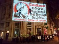 معترضان در لندن خواستار آزادی شیخ زکزاکی شدند