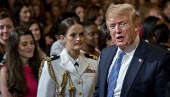 ترامپ و ملانیا میزبان مادران نظامیان ارتش آمریکا +تصاویر