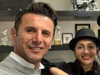 سلفی دیدنی از امین حیایی و همسرش +عکس