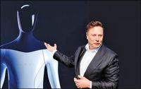 خیز جدید تسلا با روبات انسان نما