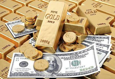 بهای جهانی طلا در پی افت شاخص دلار بالا رفت