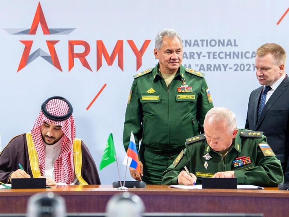 روسیه و عربستان توافقنامه نظامی امضا کردند