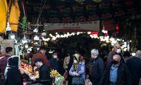 وضعیت بازار قزوین در روزهای کرونایی +عکس