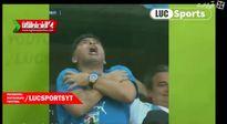 شادی عجیب مارادونا! +فیلم