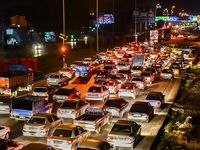 ترافیک نیمه سنگین در ورودی شرقی پایتخت