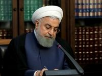 ابراز امیدواری روحانی برای گسترش روابط ایران و کویت