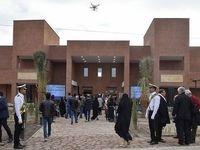 تشکر همسر استاد شجریان برای افتتاح باغ هنر بم +عکس