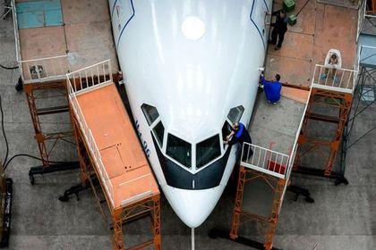 در کارخانه هواپیماسازی چه میگذرد +تصاویر