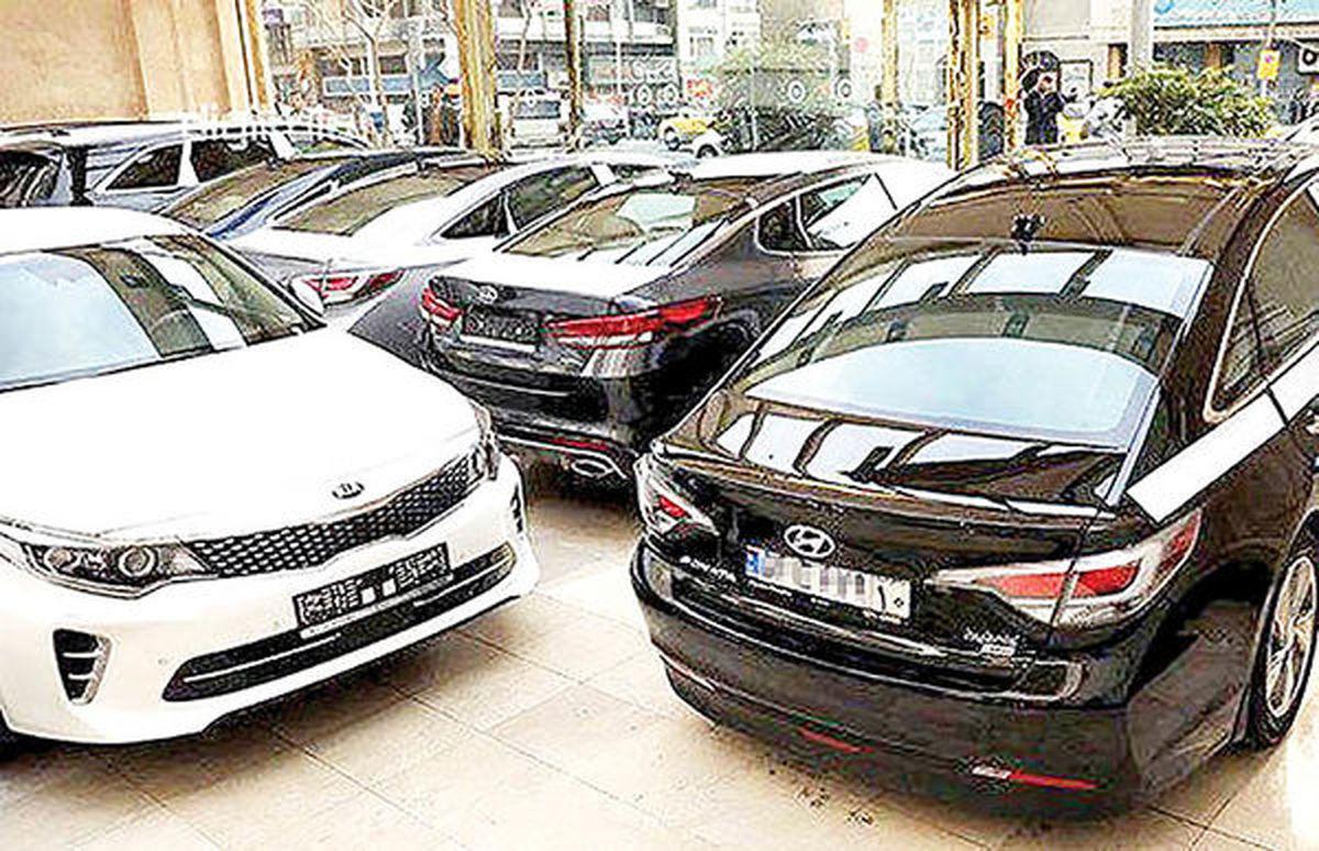 بازار خودروهای وارداتی در دور برگردان رونق