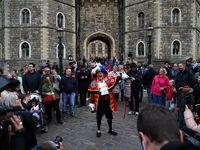 شادی مردم انگلیس از تولد شاهزاده جدید +تصاویر