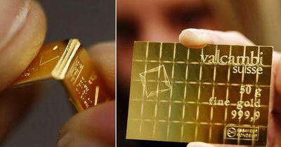 افت 16 دلاری قیمت نقدی طلای جهانی