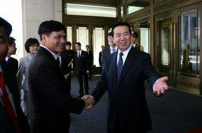 یک چینی رئیس اینترپل شد