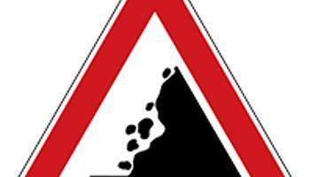 خطر ریزش کوه در جاده هراز و چالوس