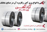 آشنایی با انواع ورق آهن  و کاربرد آن در صنایع مختلف