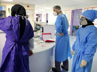 تلاش پزشکان و پرستاران در مهار کرونا