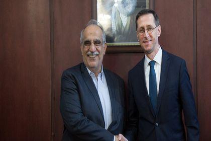 دیدار وزیر اقتصاد مجارستان با وزیر اقتصاد ایران +تصاویر
