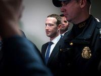حضور مارک زاکربرگ مدیر فیسبوک در سنای آمریکا +عکس