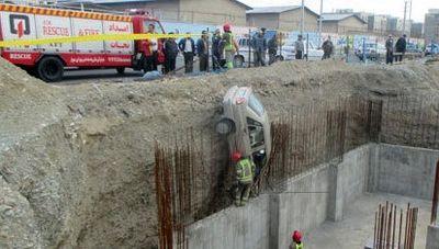 نجات معجزهآسای راننده پراید +عکس