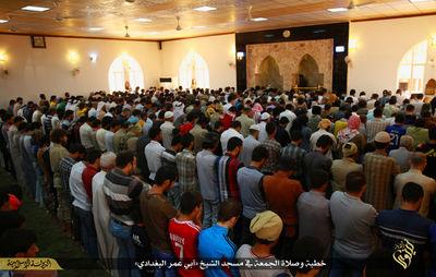 افتتاح مسجد ابوبکر بغدادی در موصل +تصاویر