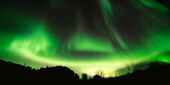 شفق قطبی در نروژ +عکس