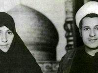 ماه عسل آیت الله هاشمی و همسرش در مشهد +عکس