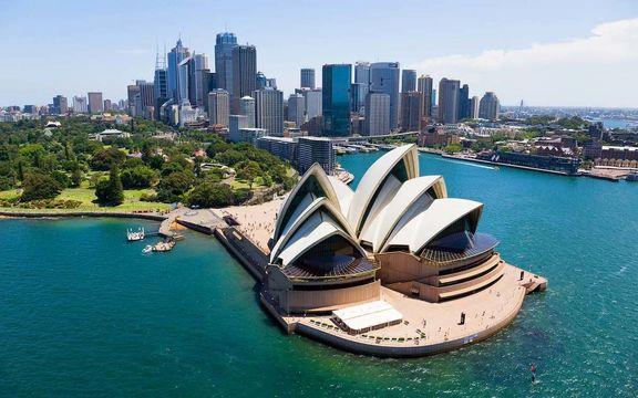 ارسال بار به استراليا
