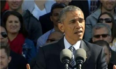 اوباما: گزینهنظامی، مشکل ایران را حلنمیکند