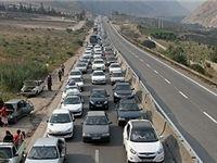 محدودیت ترافیکی در جادههای فیروزکوه و هراز