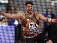 احسان حدادی سهمیه المپیک را کسب کرد