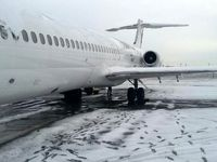 از سرگیری پروازهای پایتخت پس از برف