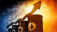 نمودار رشد بهای نفت خام در یک سال گذشته / قیمت جهانی نفت افزایش یافت