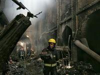 مشخص شدن علت آتشسوزی بازار تبریز