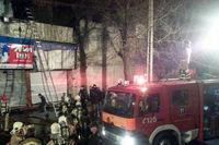 آتش سوزی گسترده انبار کالا در بلوار ارتش
