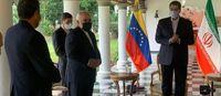 استقبال گرم و صمیمانه رییس جمهور ونزوئلا از ظریف
