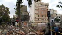 ۶ساختمان اطراف حادثه خیابان ابوذر تهران تخلیه شد