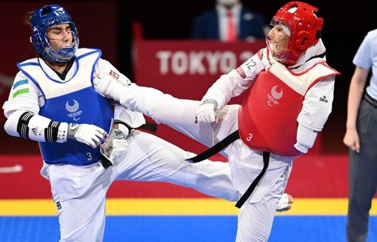 شکست بانوی پاراتکواندوی ایران در پارالمپیک توکیو